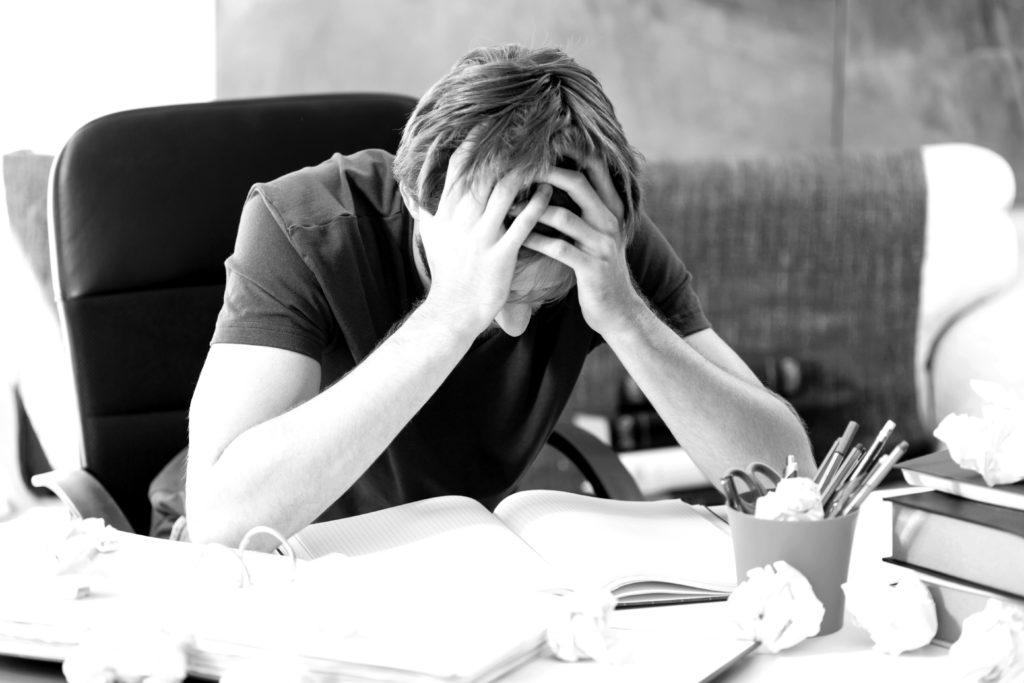 Hausaufgaben Stress