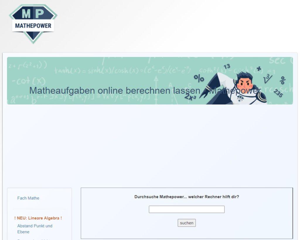website mathepower