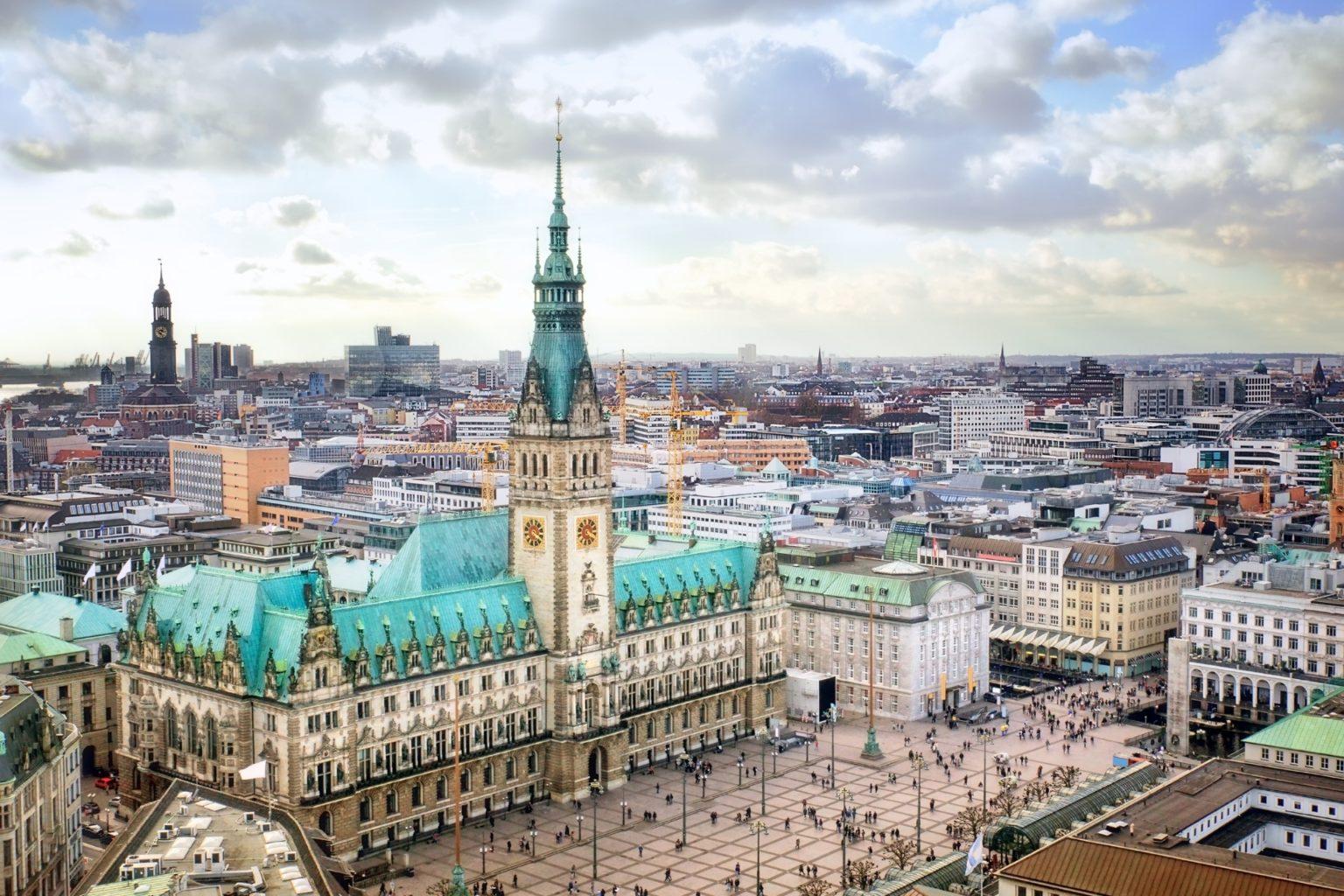 Rathaus Hamburg, Deutschland